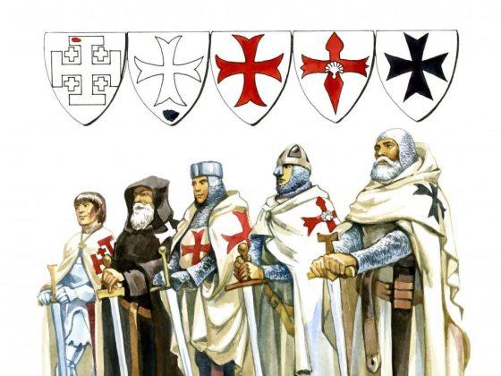 Виды крестов Тамплиеров