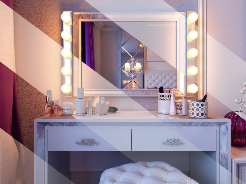 Зеркало в спальне напротив кровати — приметы
