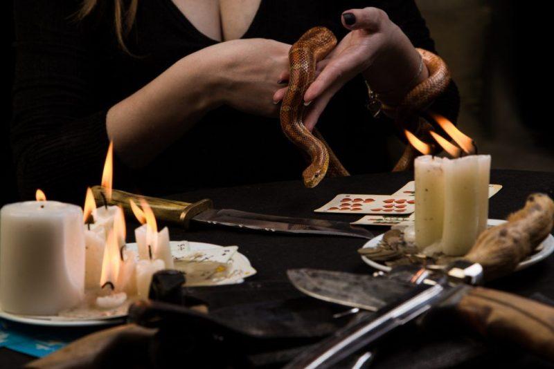 Магические заклинания: книга черной магии