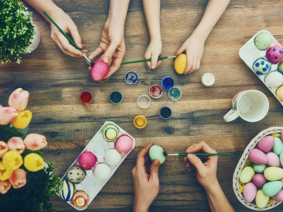 Крашенные яйца подскажут кто главный в семье