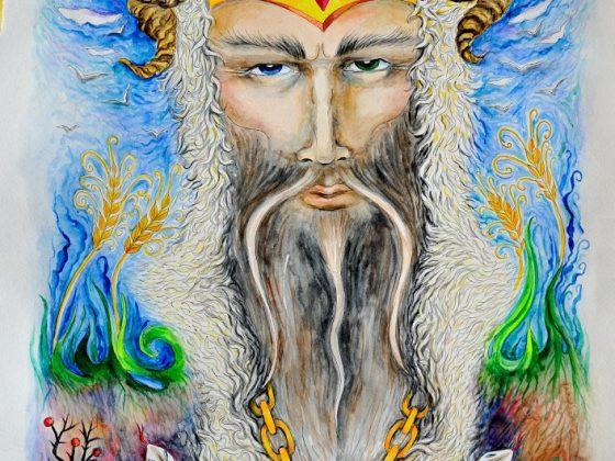 Велес – славянский Бог, сын коровы Земун