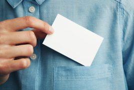 Оформление и размер визитки по фен-шуй