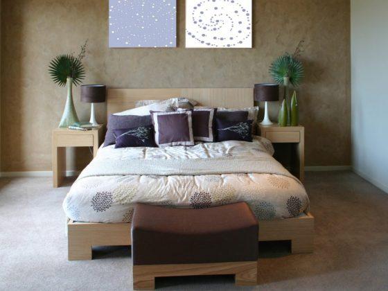 Спальню можно украшать талисманами