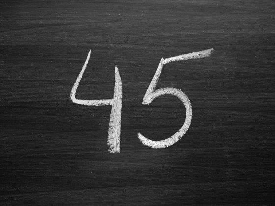 Особенности трактовки числа 45 в нумерологии