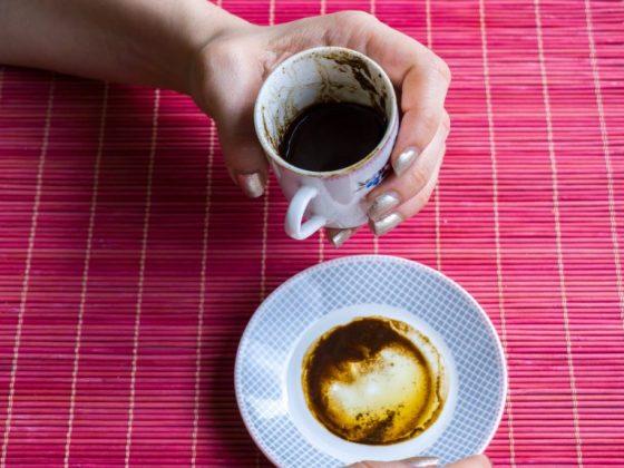 Значение цветка на кофейной гуще
