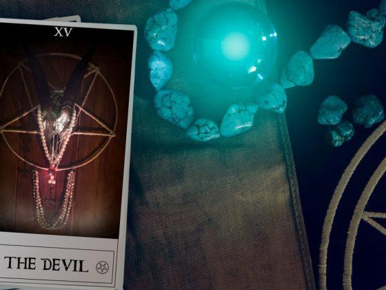 Сочетание Дьявола с другими картами Таро
