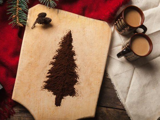 Значение елки на кофейной гуще