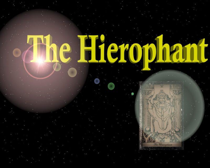 Иерофант (Жрец) в сочетании с другими картами Таро