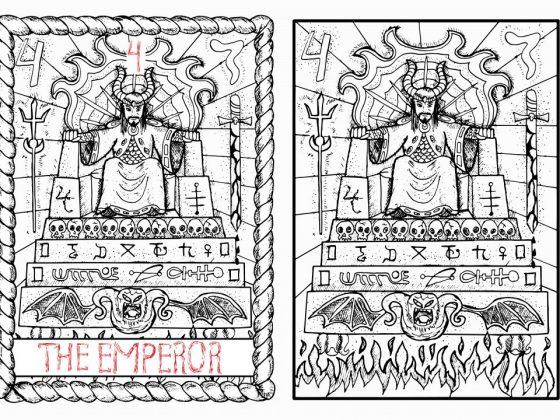 Сочетание императора с женскими картами