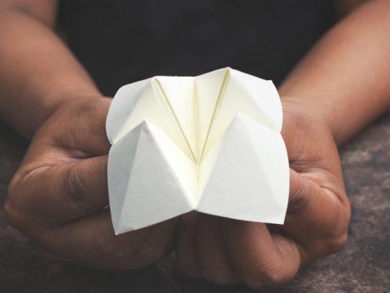 Создание гадалки из бумаги