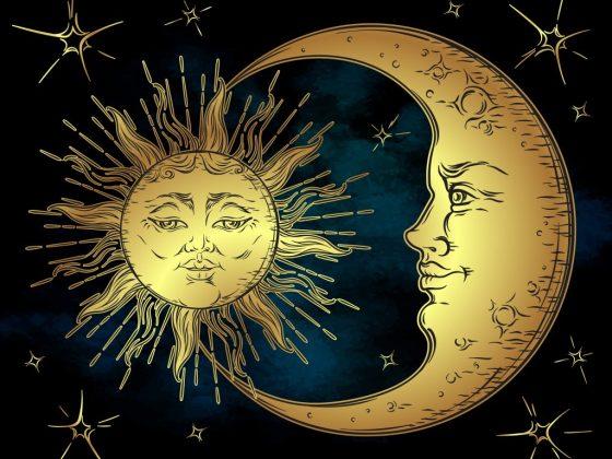 Карта Таро Луна в перевернутом положении