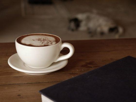Толкование собаки на кофейной гуще
