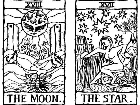 Сочетание Звезды Таро с другими картами