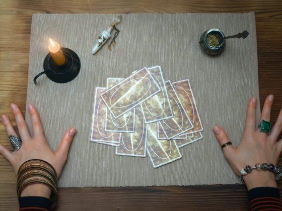 Король Кубков Таро в сочетании с другими картами