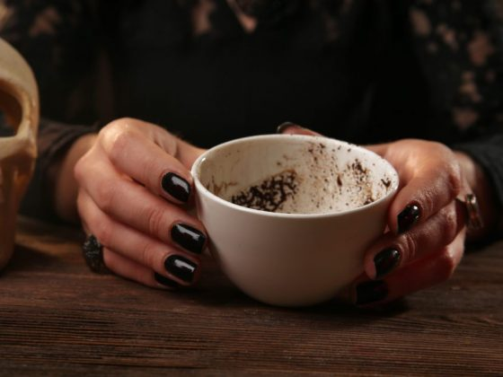 Лебедь на кофейной гуще