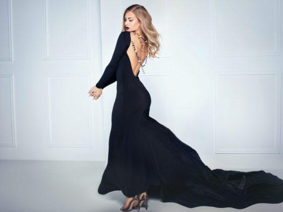 Черное платье может предвещать банкет
