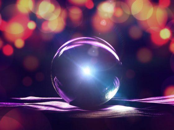 Магический шар поможет справиться с проблемами