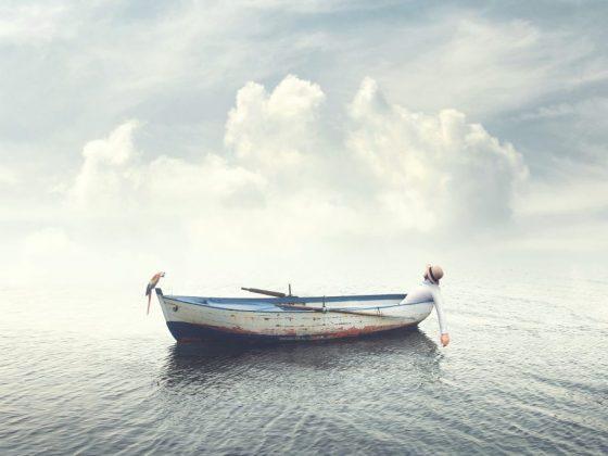 По соннику Хассе, лодка предвещает роман