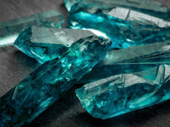 Цветной камень берилл