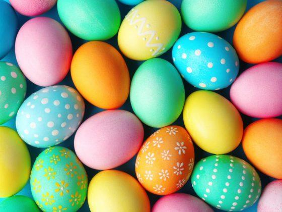 Яркие яйца